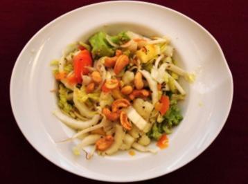 Asiatischer Gemüsesalat mit Sojasprossen (Hansi Kraus) - Rezept