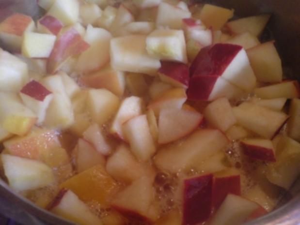 Rosa Apfel-Pfirsich-Kompott - Rezept - Bild Nr. 2