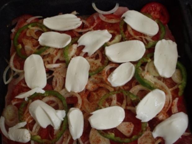 Überbackene Schnitzel Toscana - Rezept - Bild Nr. 3