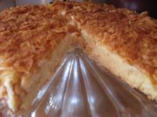 Toffee-Mandelkuchen - Rezept