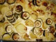 Gemüsegratin-Beilagen zu Fisch oder Fleisch. - Rezept