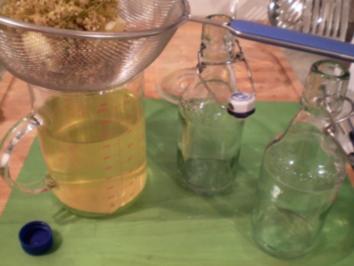 Holunderblütenlikör - Rezept