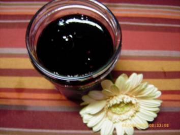 Holunderbeer - Gelee - Rezept