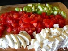 Mediterrane Partner-Salat - Mit verschiedene Gusto - Rezept