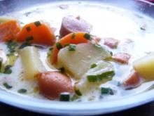 Kartoffelsuppe Böhmisch - Rezept