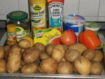 fettarmer Kartoffelsalat - Weight Watcher geeignet - Rezept