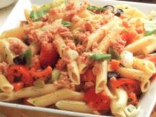 erster gang pasta fredda verdura tonno - Rezept