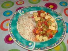 Tofu-Curry - Rezept
