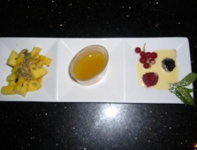 Dreierlei von der Mango - Rezept