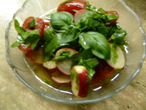 Tomaten-Radieschensalat - Rezept - Bild Nr. 2