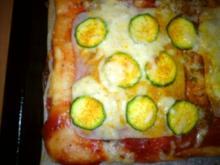 Kreative Pizza die dritte - Rezept