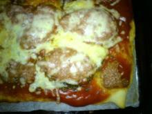 Kreative Pizza die vierte - Rezept