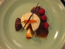 Möhrentörtchen mit Vanilla-Creamcheese-Frosting und englischer Schokoganache - Rezept