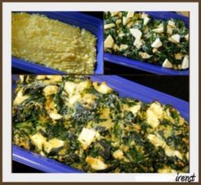 KARTOFFEL - Kartoffel - Spinat - Auflauf - Rezept