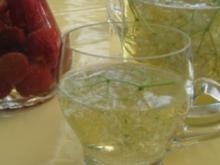 Hollunderblüten Bowle - Rezept