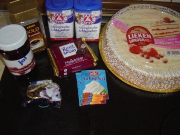 Mocca-Schoko-Sahne-Torte - Rezept - Bild Nr. 2