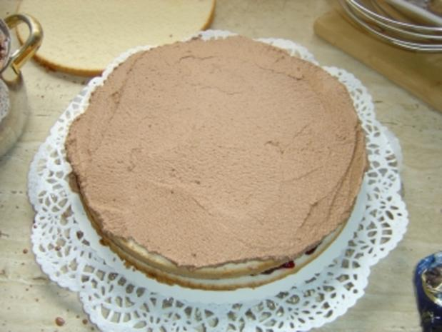 Mocca-Schoko-Sahne-Torte - Rezept - Bild Nr. 4
