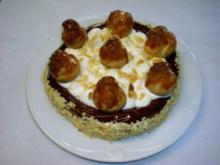 Saint-Honoré-Torte  ein Klassiker   Durchmesser 22cm - Rezept