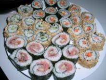 Variation von Maki-Sushi (Maki-Zushi) - Rezept