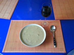 Suppe: Feine Kartoffelsuppe - Rezept