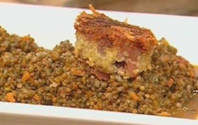 Zampone con lenticchie - Rezept