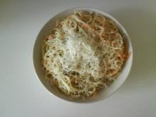 Nudeln: Spaghettis in Salbeibutter - Rezept