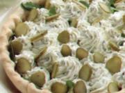 erster gang crostata al formaggio - Rezept