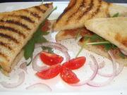 Beef Tartar Sandwich mit gebratenem Spargelsalat - Rezept - Bild Nr. 760