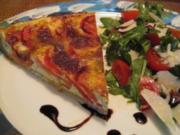 Tomaten - Mozzarellaquiche - Rezept