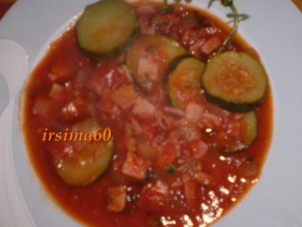 Zucchini mit Tomaten - Rezept - Bild Nr. 2
