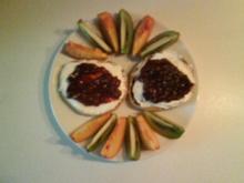 Frühstück: Toasties mit Mascarpone und Erdbeerkonfitüre - Rezept