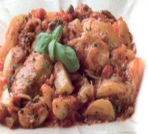 erster gang pollo piccante - Rezept