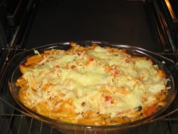Makkaroni-Auflauf mit Hühnchen - Rezept