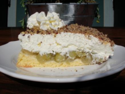Geburtsgs-Hauben-Torte - Rezept