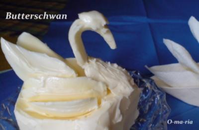 Sonstiges  Butterschwan - Rezept