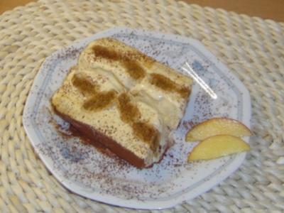 Eistorte Tiramisu - Rezept