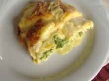 Lasagne mit Spargel und Schollenfilet - Rezept