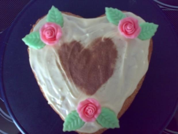 Kuchen Co Bisquit Herz Rezept Kochbar De