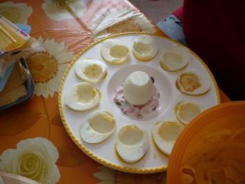 Ein Ei kommt selten alleine - Rezept