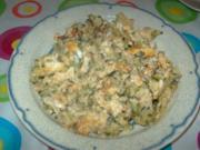 Zucchini mit Eiern - Kuhssa u beid - Rezept