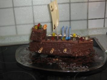 Rezept: Schokoladen - Kastenkuchen