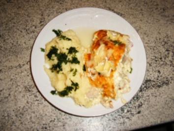 Huhn in Eiermilch gebacken - Rezept