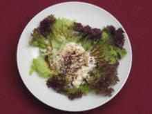 Ziegenkäse auf knackigen Salaten - Rezept