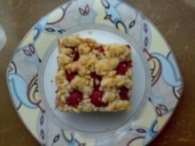** Kuchen & Co. ** Himbeer-Streuselkuchen vom Blech - Rezept
