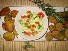Ofenkartöffelchen mit Avocadodip - Rezept