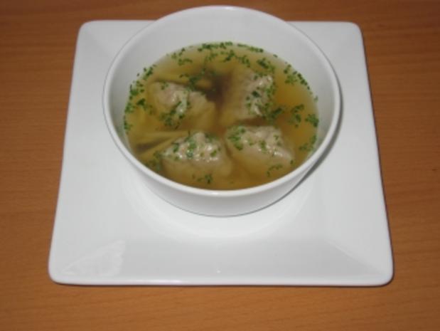 Wan-Tan-Suppe - Rezept
