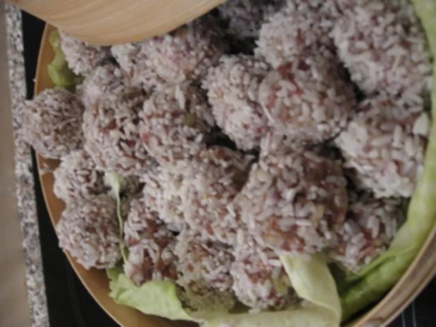 Gefüllte Reisbällchen - Rezept - Bild Nr. 2