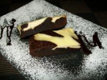 cheesecake-brownies - Rezept