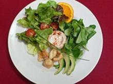 Bunter Blattsalat mit Lottemedaillons - Rezept - Bild Nr. 9