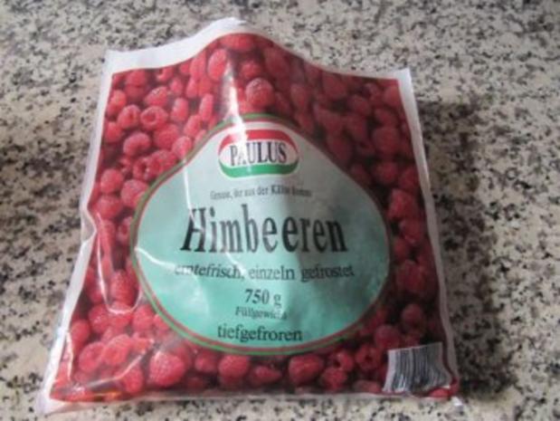 Himbeern mit Joghurt Sahne - Rezept - Bild Nr. 4